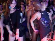 Молоденькие соски потекли в клубе