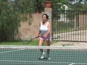 Трахнул теннисистку с аппетитной фигурой