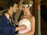 Сбежавшая невеста дала в очко сантехнику