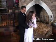 Хорошенько оттрахал свою невесту