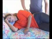 Трахнул и обкончал спящую подружку